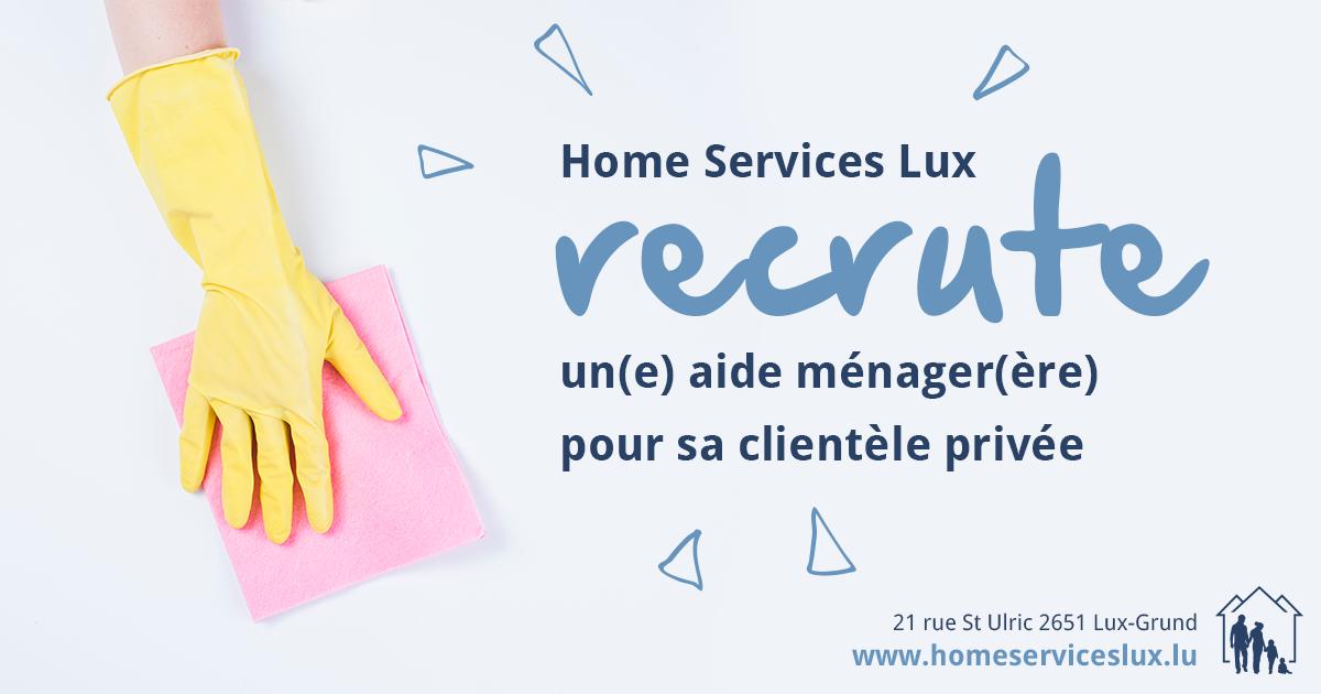 home services lux recherche son futur collaborateur